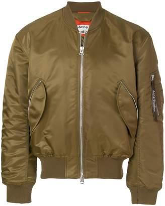 Acne Studios makio bomber jacket khaki