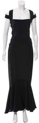 Narciso Rodriguez Cutout Evening Dress
