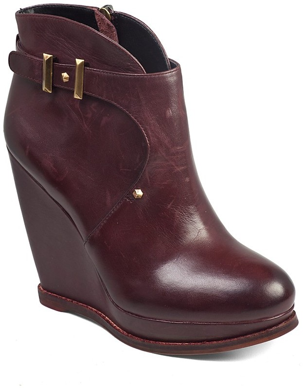 Sam Edelman Booties - Dalton Belted Wedge