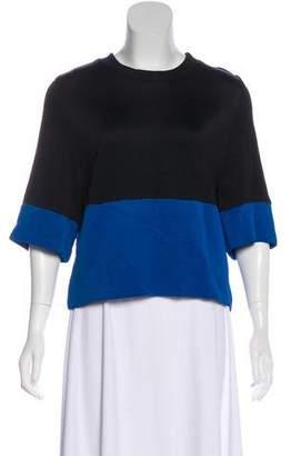 Barbara Bui Colorblock Short Sleeve Top