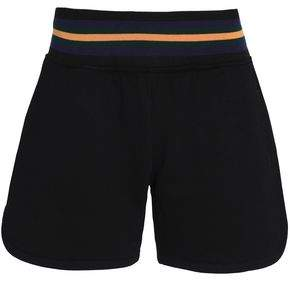 McQ Embroidered Cotton-Terry Shorts
