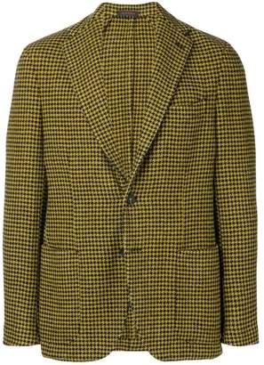 The Gigi checked tailored blazer