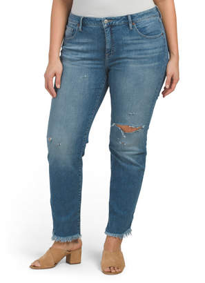 Lucky Brand Plus Lolita Straight Jeans