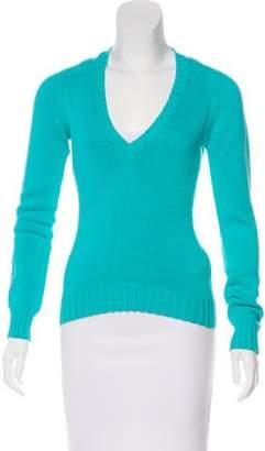 Loro Piana V-Neck Long Sleeve Sweater