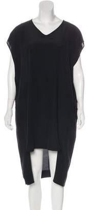 Superfine Silk Shift Dress