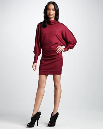 Diane von Furstenberg Maryn High-Neck Jersey Dress