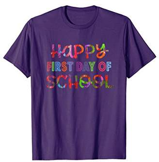 DAY Birger et Mikkelsen Happy First of School Shirt for Teachers and Students