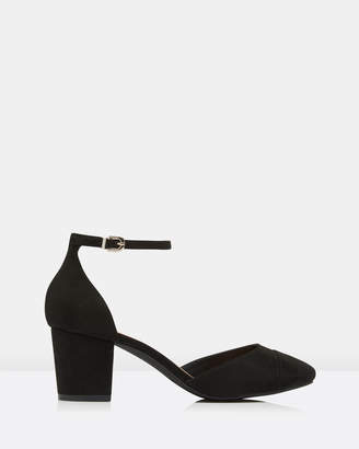 Forever New Pixie 2-Part Mid Block Heels