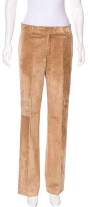 Gucci Leather High-Rise Pants w/ Tags