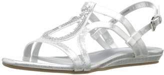 Bandolino Women's Aftershoes Synthetic Gladiator Sandal