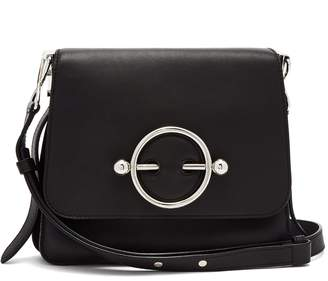 J.W.Anderson Disc leather cross-body bag