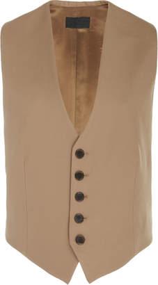 Nili Lotan Angelina Buttoned Wool Vest