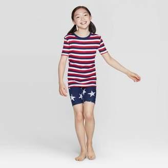 EV Holiday Kids Stars and Stripes Family Pajama Set - Red