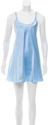 Oscar de la Renta Embroidery-Accented Sleeveless Tunic