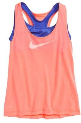 Nike Breathe Dri-FIT Tank with Bra