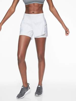 Athleta Laser Run 2 in 1 Short 4''