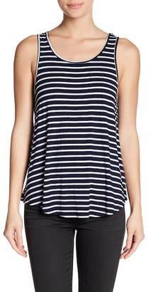 Tart Twisted Strap Keyhole Tank Top