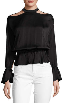 Marissa Webb Sullivan Cold-Shoulder Blouse