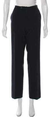 Valentino Jeans Mid-Rise Straight-Leg Pants