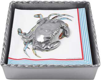 Mariposa Crab Twist Napkin Box