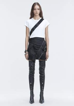 Alexander Wang SHORT SLEEVE BODYSUIT TOP
