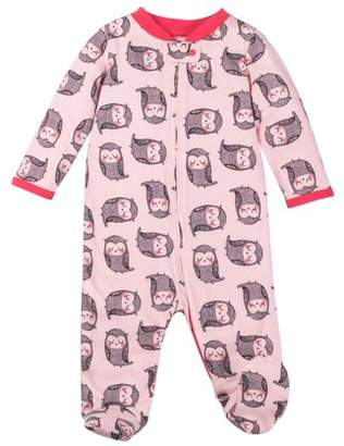 Lamaze Organic Cotton Sleep N' Play Pajamas (Newborn Baby Girls)