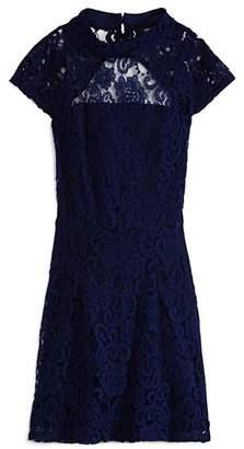 Miss Behave Girls' Mandy Lace Dress - Big Kid