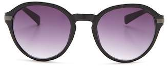 Vince Camuto Round 55mm Acetate Frame Sunglasses