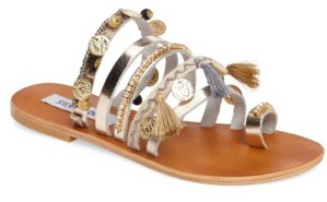 Women's Steve Madden Bejeweled Rippel Sandal $79.95 thestylecure.com