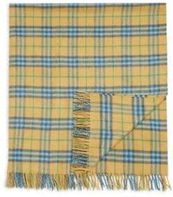 Burberry Kid's Vintage Check Cashmere Blanket