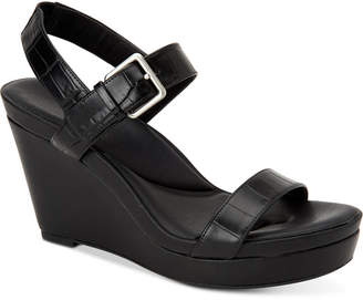 Calvin Klein Women's Jacie Strappy Sandals Women's Shoes