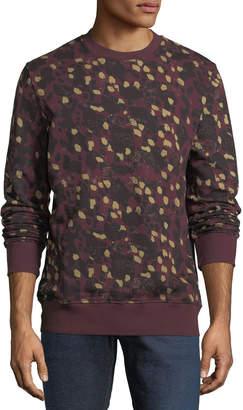 Wesc Miles Animal Printed Sweatshirt
