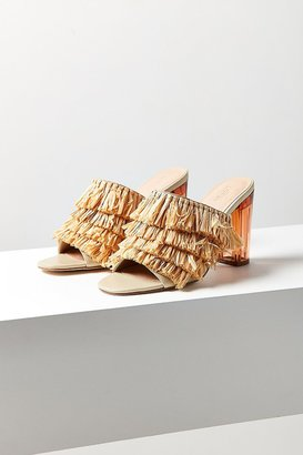 Urban Outfitters Raffia Lucite Heel