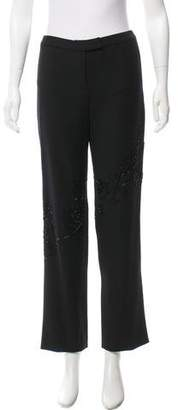 Gianni Versace Mid-Rise Pants