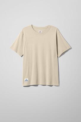 Weekday Unison T-Shirt - Brown