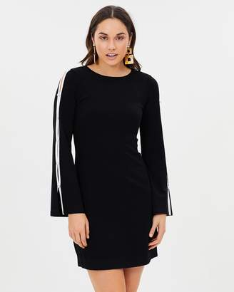 Karen Millen Cut-Out Knitted A-Line Dress