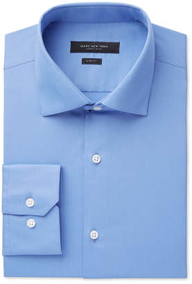 Andrew Marc Men's Slim-Fit Motion-Ease Collar Wrinkle-Free Solid Dress Shirt