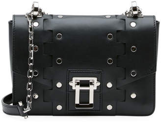 Proenza Schouler Hava Studded Leather Chain Shoulder Bag