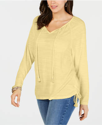 Style&Co. Style & Co Tie-Neck Top