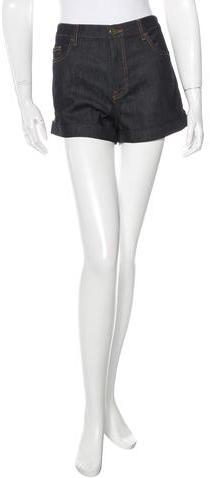 ValentinoValentino Denim Mini Shorts
