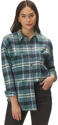 Free People Loveland Plaid Button Down Shirt - Women's