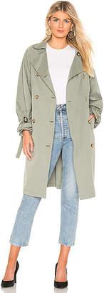 ON PARLE DE VOUS Jasmin Trench Coat