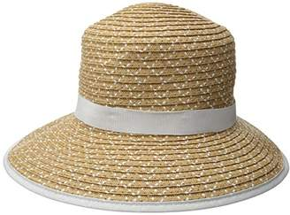 Physician Endorsed Women's Pitch Perfect Straw Sun Hat