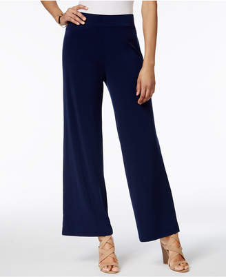 JM Collection Pull-On Wide-Leg Pants, Only at Macy's $49.50 thestylecure.com