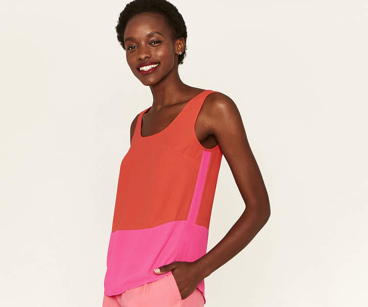 COLOURBLOCK VEST