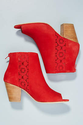 Anthropologie Lace Shooties
