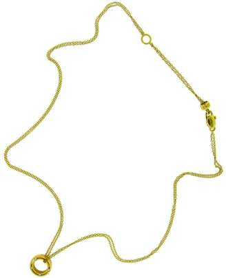 Damiani 18K Yellow Gold Brad Pitt Diamond Necklace