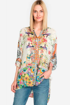 Johnny Was Floral Leilani Blouse