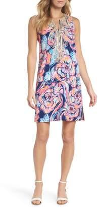 Lilly Pulitzer R) Carlotta Sleeveless Stretch Shift Dress