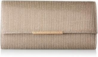 Buffalo David Bitton Bag Bwg-05 Glitter, Women's Clutch, Braun (Antique 03), 4x13x25 cm (B x H T)
